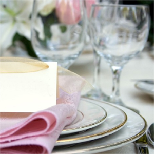 Dinnerware and Glassware for Rent