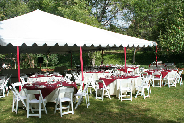 30x30 Frame Tents & Canopies/Tents : AZ Event Rentals - Get a Quote | Andrews Party Rental